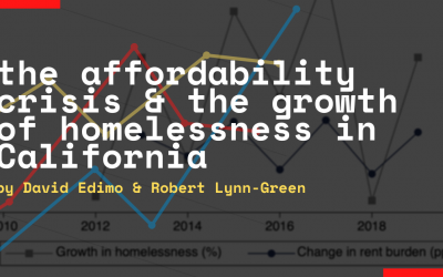Yes, we can predict homelessness in California