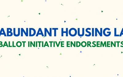 Our Ballot Initiative Endorsements
